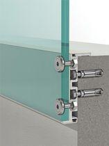 Sistema de fijación aluminio / para balcón