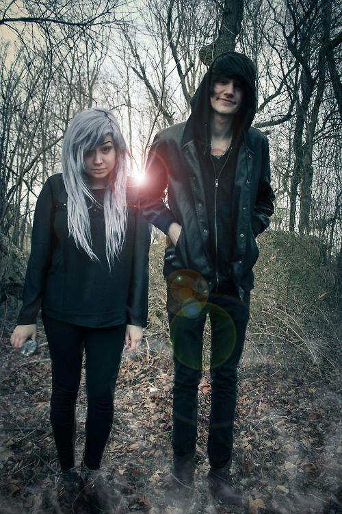 Scene couples are so cute! One day my love and I are going to be together like that I want to see him