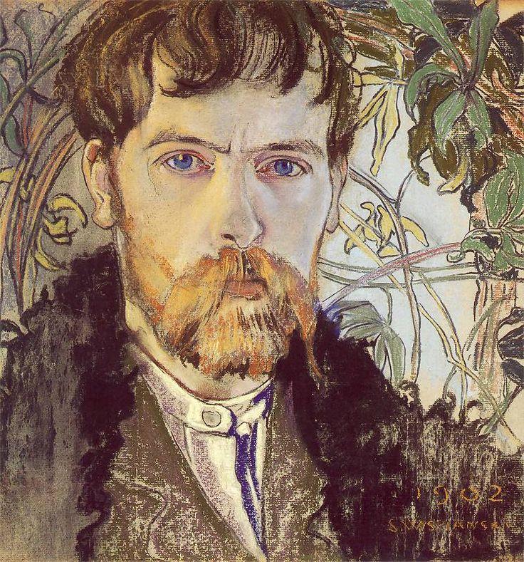 Stanisław Wyspiański, Autoportret (1902)