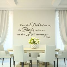 MairGwall Bless Quote The Food Before Us Family Beside And Love Between