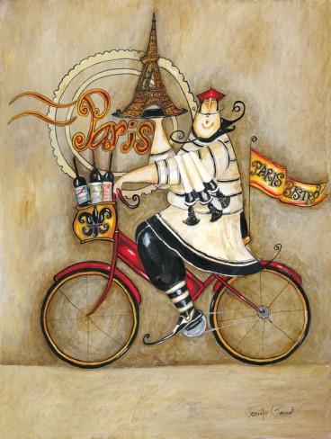 Paris Bistro I French Bistro Cafe Art Print Kitchen ~ ☮~ღ~*~*✿⊱  レ o √ 乇 !! ~