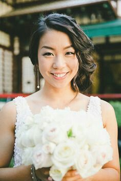 Zhao you ting wedding hairstyles