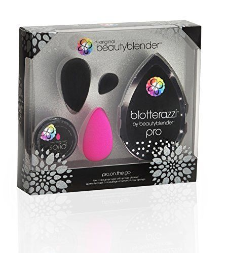 The beautyblender pro.on.the.go kit contains everything you need to master the latest looks including the debut of the brand's new mini blendercleanser solid pro. It will help you achieve flawless mak