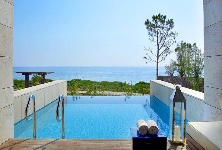 The Romanos, a Luxury Collection Resort, Costa Navarino - Premium Infinity Room - view