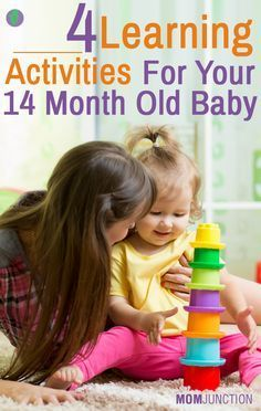 4 Learning Activities For Your 14 Month Old Baby: Well, how will you describe your 14 month old baby? Entertaining, naughty, playful or hyperactive! If so, then you need to keep a close eye on him.  Here is what you can expect from your darling: