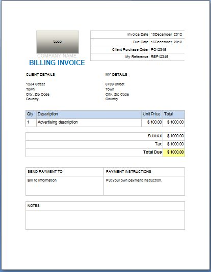 202 best Microsoft Templates images on Pinterest Word templates - it consultant invoice template