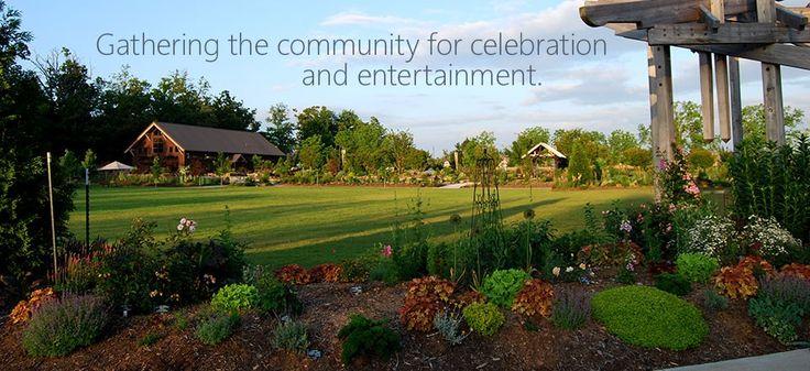 Botanical Garden Of The Ozarks Fayetteville Ar Growing At Bgo Pinterest Gardens