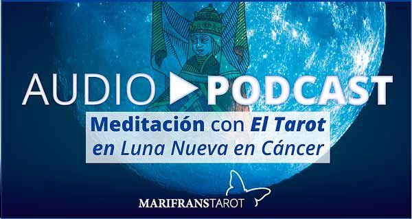 Audio-meditación guiada con el Tarot en Luna Nueva en Cáncer con La papisa en la Luna Nueva en Cáncer ahonda en percibir lo que necesitas y es necesario para alimentar lo que sembraste ya. http://marifranstarot.com/audio-meditacion-con-el-tarot-en-luna-nueva-en-cancer/  #Tarot #audioMeditacion #meditación #conciencia #tarotEvolutivo #Cancer #lunaNueva #Luna #coaching #AfirmacionesZodiaco  #Blackmoon #Zodiaco #LaPapisa #podcast