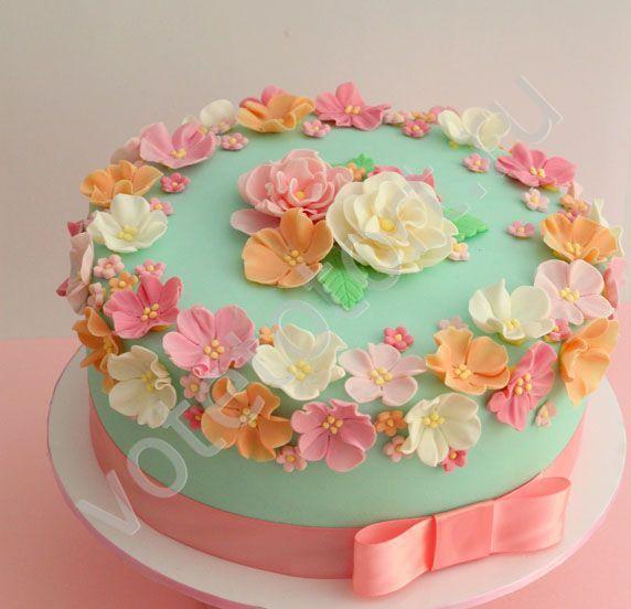 Торт маме на 61 год