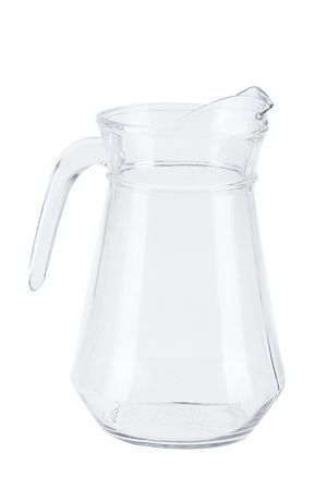 "Enjoy our classic styled hand-blown glass jug, with it's modern design this jug will be suitable for all occasions both casual or smart.<div class=""pdpDescContent""><BR /><b class=""pdpDesc"">Dimensions:</b><BR />L11xW14xH21.5 cm</div>"