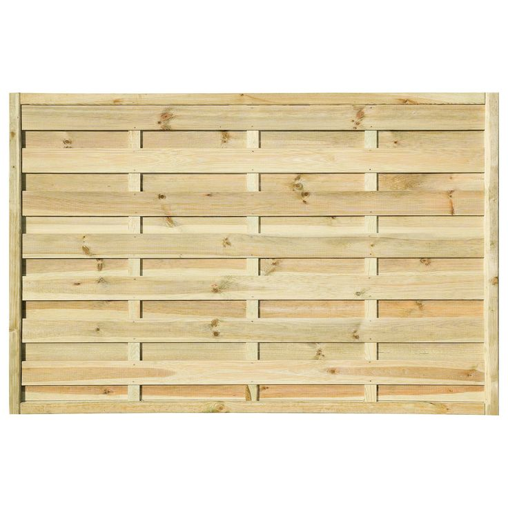 Pale Green Woodbury Timber Fence Panel (W)1.8m (H)1.2m, Pack of 5 | Departments | DIY at B&Q