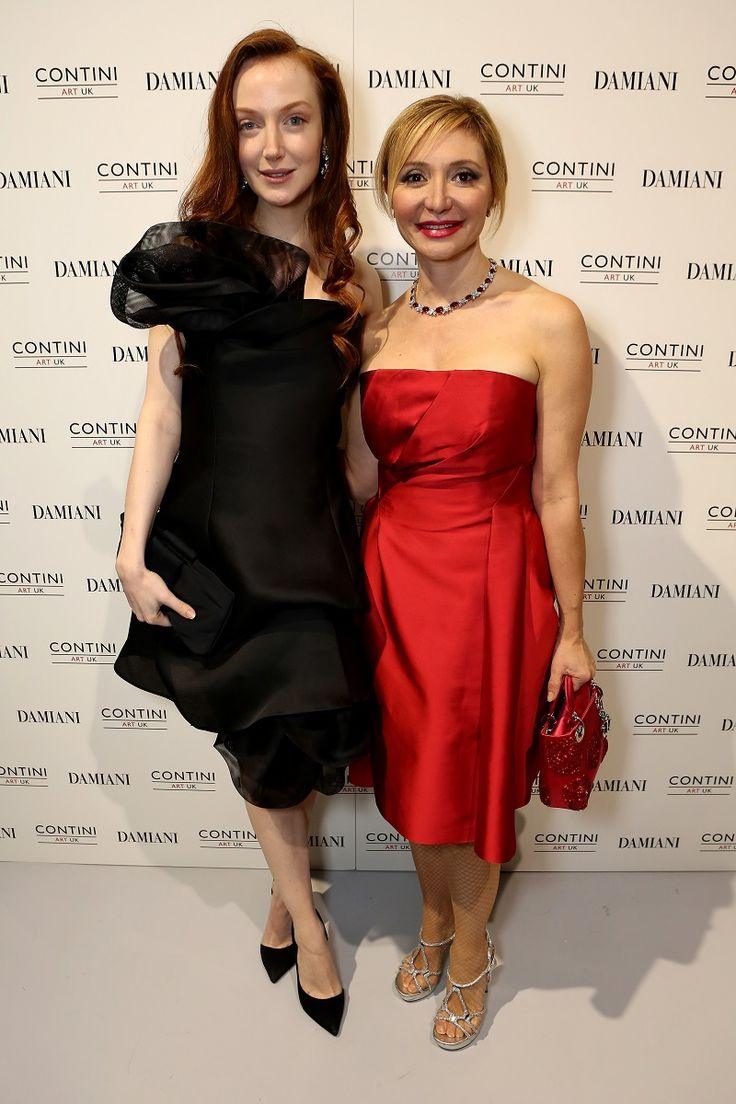 Olivia Grant and Silvia Damiani at the Contini art gallery in London