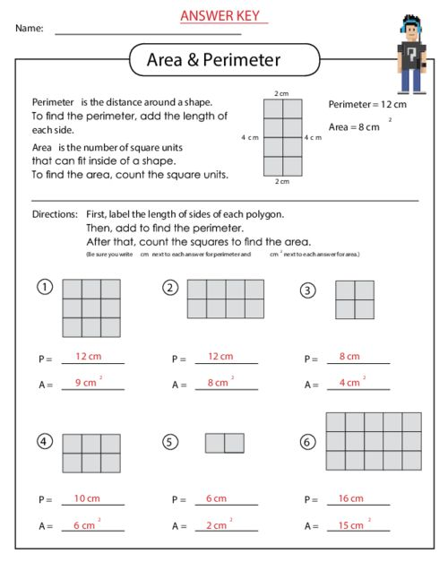 Worksheet Works Calculating Area And Perimeter Answers Rringband – Worksheet Works Answers