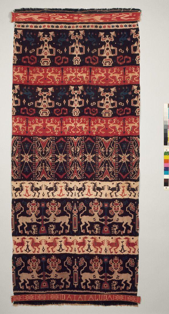 Man's Ceremonial Cloth (Hinggi Kombu)   LACMA Collections