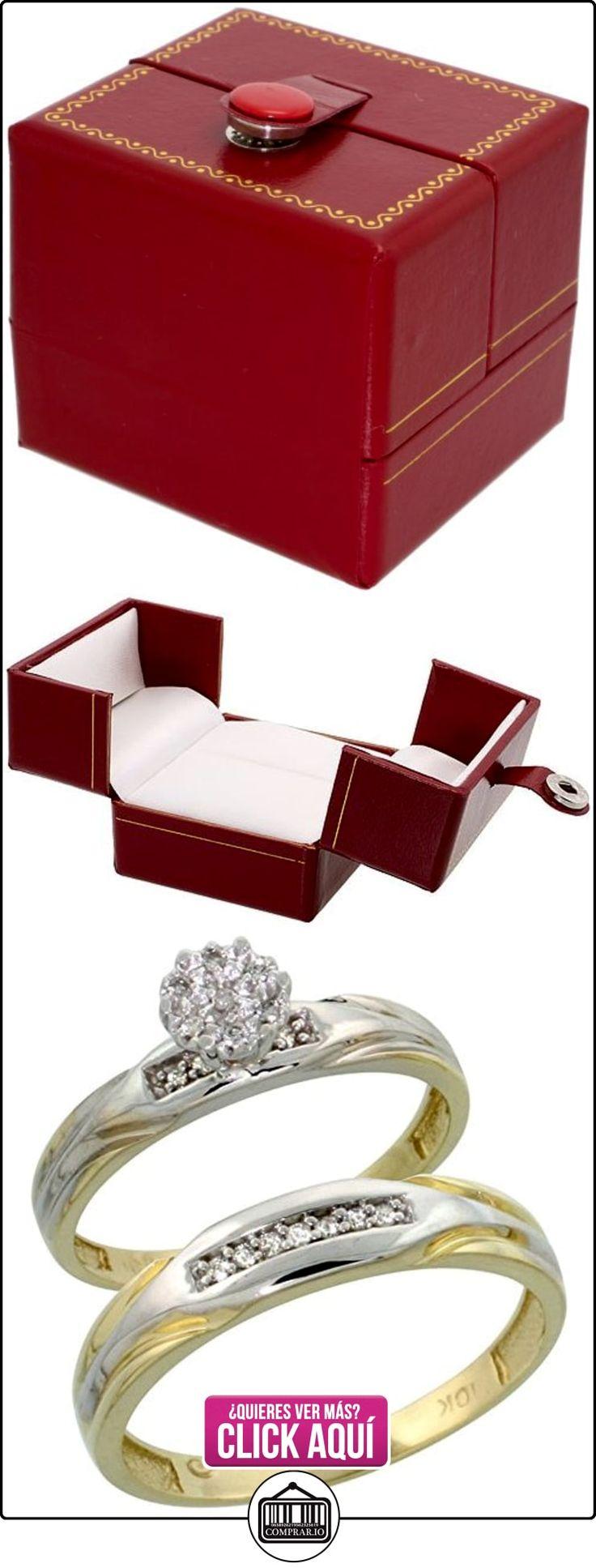 Revoni - Anillo de compromiso de oro amarillo  ✿ Joyas para hombres especiales - lujo ✿ ▬► Ver oferta: http://comprar.io/goto/B005M2YBLA