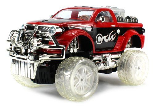 Kids' MP3 Players - Hydro Jammerz Ram Electric RC Truck MP3 Player Huge Size 112 Scale RTR Controllable Suspension Can be RaisedLowered Through Remote Colors May Vary ** To view further for this item, visit the image link.
