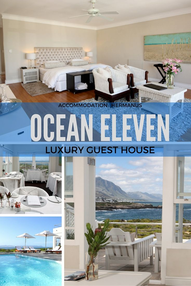 Ocean Eleven Luxury Guest House - Hermanus Accommodation. Overlooking the cliffs of Hermanus, this refined colonial-style guesthouse is 42.8 km from Walker Bay Nature Reserve. It's 48.8 km from Betty's Bay. …