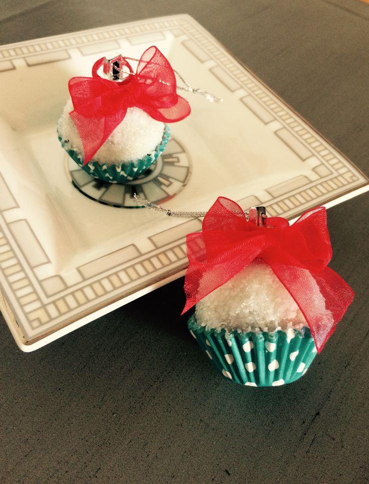 Piccoli cupcakes di Natale