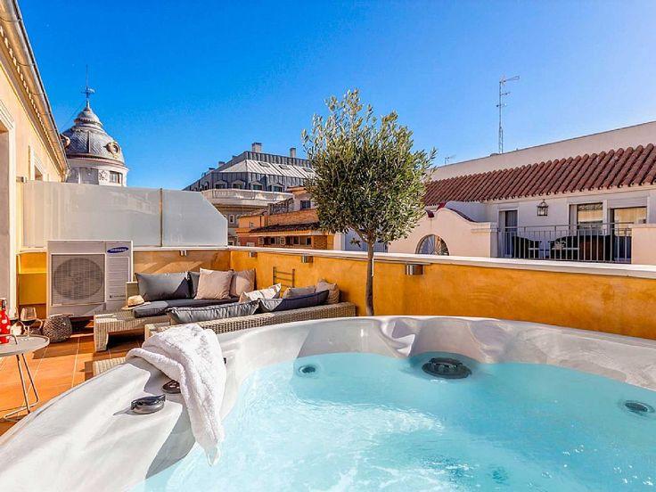 Ático con terraza y Jacuzzi en Málaga