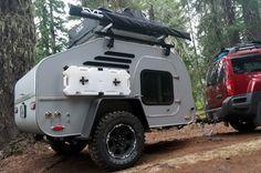 TerraDrop: Off Road Capable, Overland -inspired Teardrop remorque. Conçu pour l'aventure! - Oregon Trail'R - Teardrop Remorques et accessoires