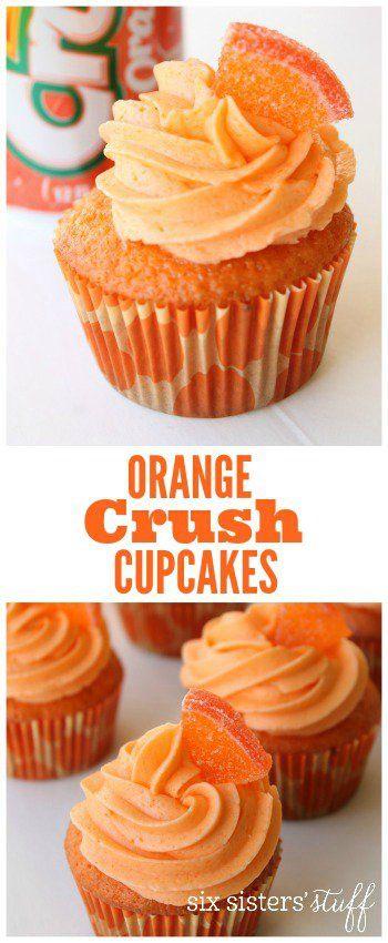 Orange Crush Cupcakes 2