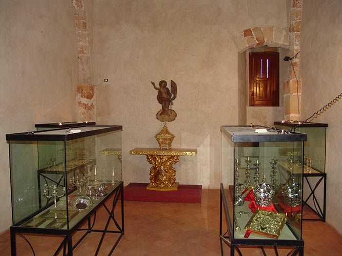 Museum inside the Sanctuary