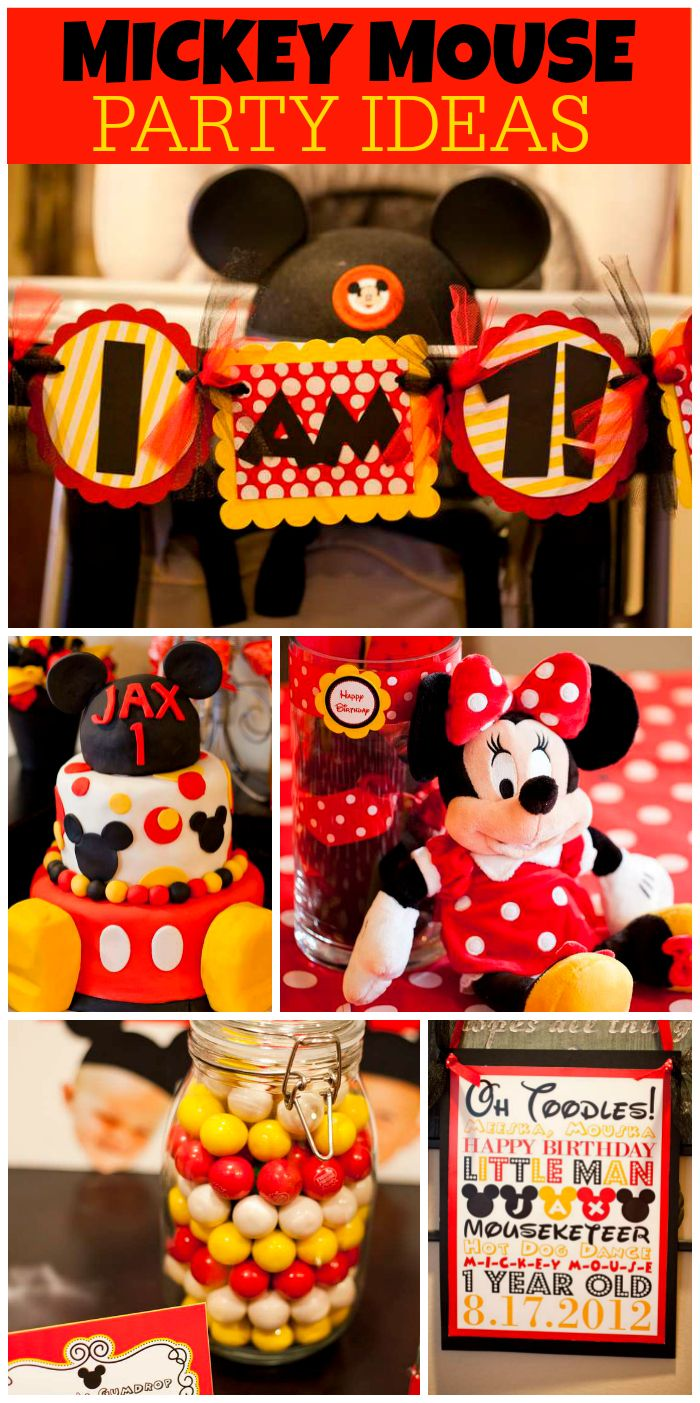 386 best Mickey Minnie Mouse Party Red Yellow Black White