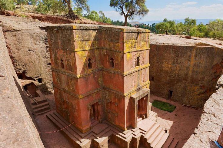 St. Georgs Kirche, Lalibela, Äthiopien