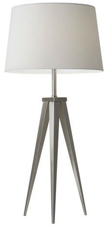 Adesso Producer Table Lamp - Silver