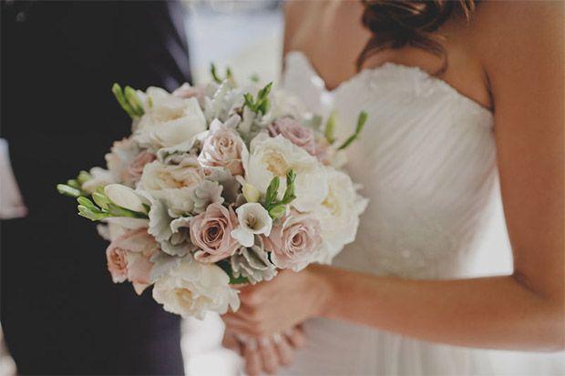 Jessica & Patrick: From sweet sixteen to husband and wife at Lyrebird Falls. #wedding #weddingflowers