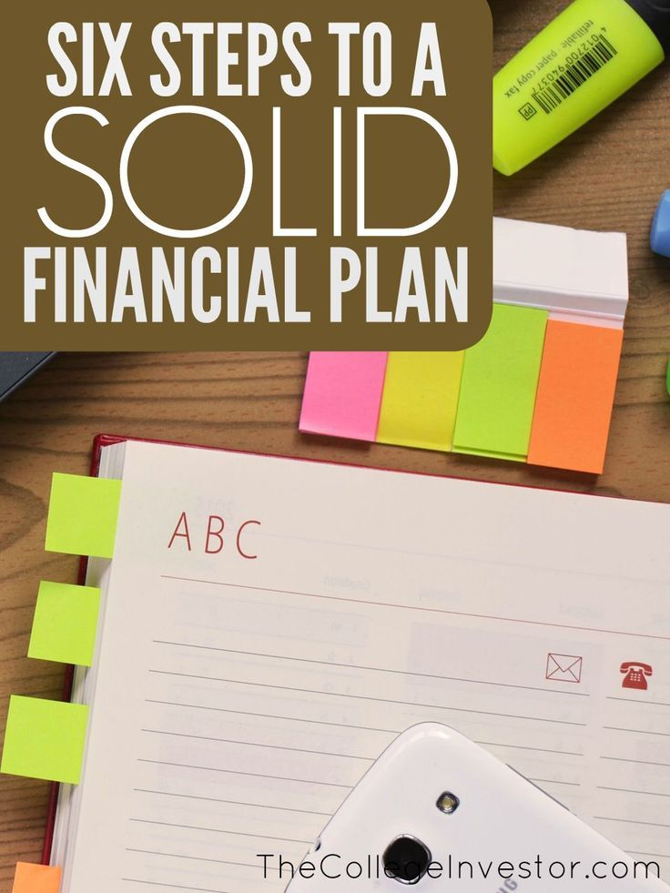 If you want to improve your finances take initiative and make a plan. Here are six elements of a solid personal financial plan to get you started. http://thecollegeinvestor.com/16990/6-elements-of-a-solid-personal-financial-plan/