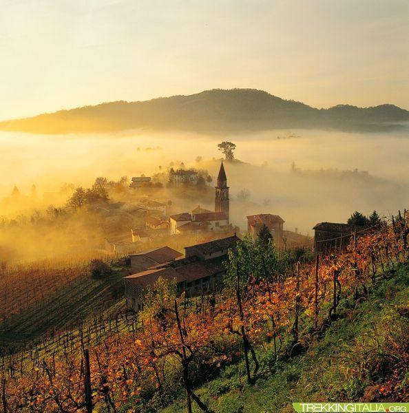 Trek del Prosecco, da Conegliano a Valdobbiadene, province of Treviso Veneto