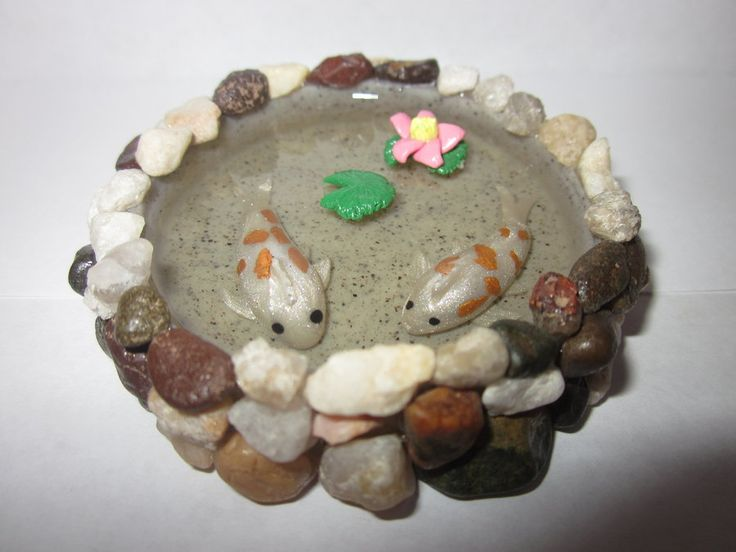 39 best images about koi fish stuff i love on pinterest for Clay fish pond