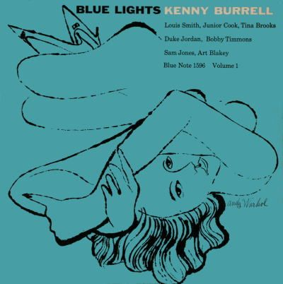 Kenny Burrell : Blue Lights _Andy Warhol