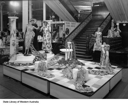 Boans Department Store, Perth Western Australia. Loved that old staircase!