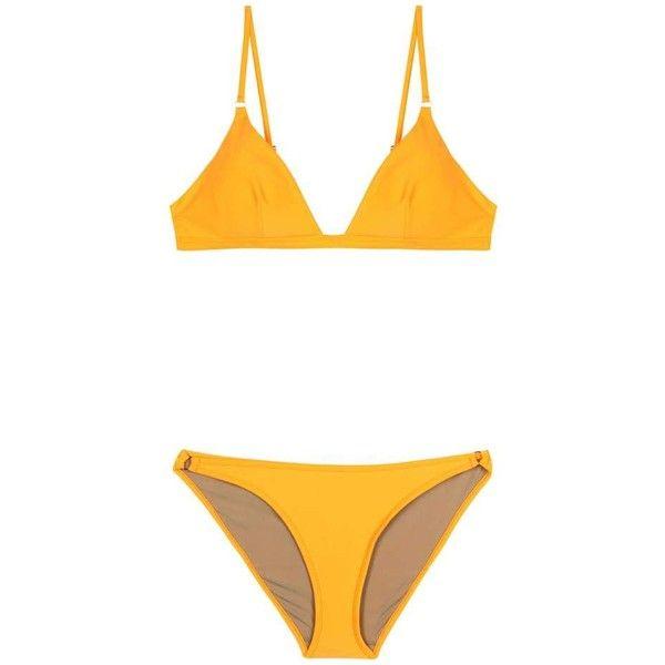 Bower Swimwear Tangiers Bikini (4.233.455 VND) ❤ liked on Polyvore featuring swimwear, bikinis, bathing suits, orange, orange bikini, bikini swimsuit, orange swimsuit, swimsuits two piece and orange bikini swimwear