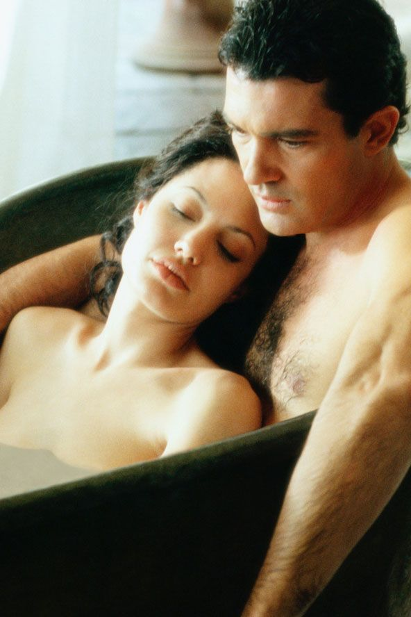 Original Sin, 2001  Antonio Banderas and Angelina Jolie