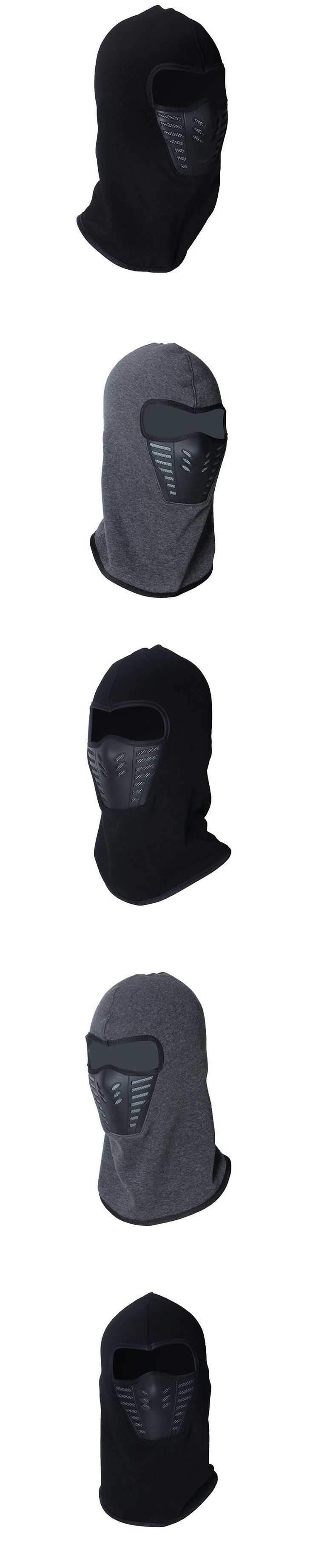 Winter warm Fleece beanies hats for men skull bandana neck warmer balaclava face mask Wargame Special Forces Mask