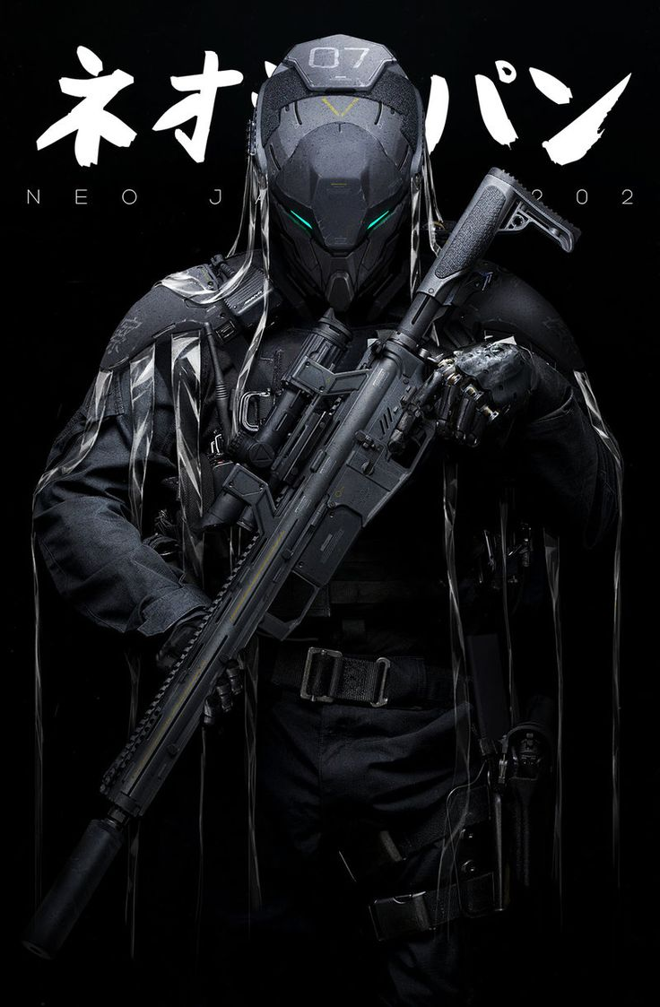 ArtStation - NEO JAPAN 2202 - Phantoms, by Johnson TingMore robots here.