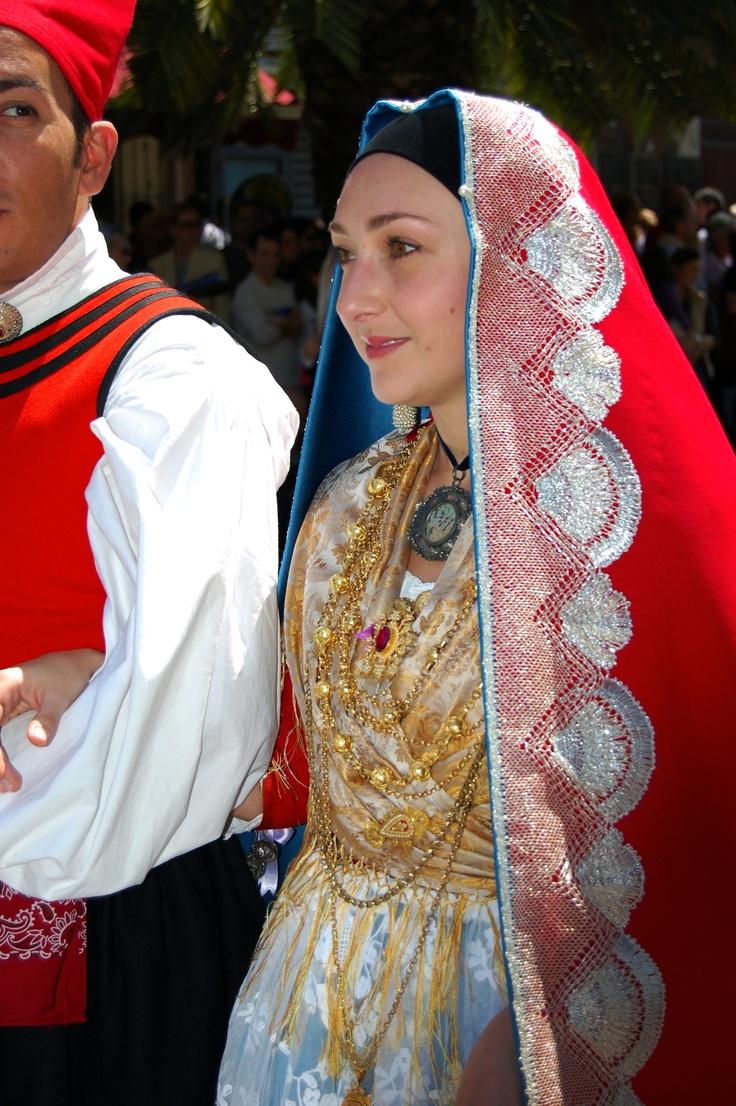 Traditional Costumes of Sardinia