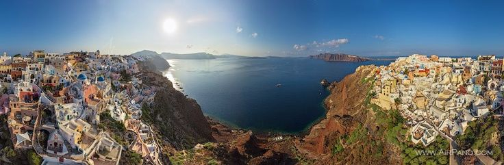 Santorini by Airpano