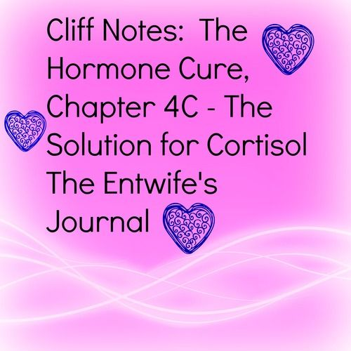 Journal cliff notes the hormone cure chapter 4 c cliff notes