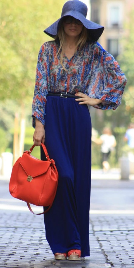 love the shirt with the skirt very modern day boho