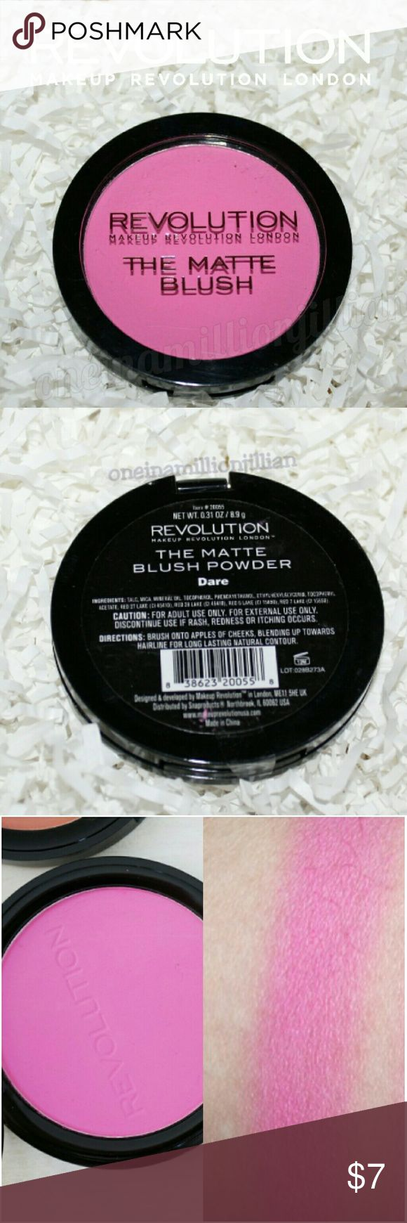 HOLD Makeup Revolution The Matte Blush Boutique (With