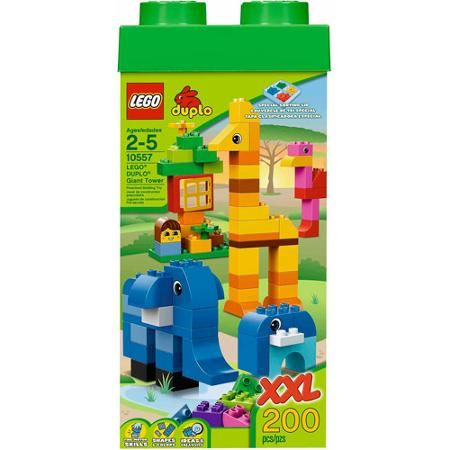 LEGO DUPLO Giant Tower  200 pieces with storage box $54.52 Walmart