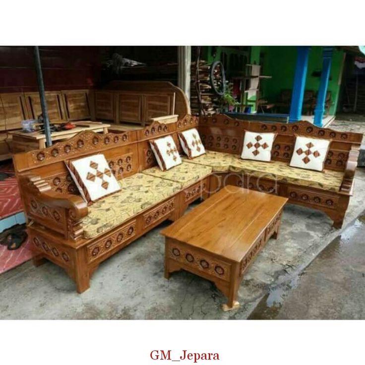 Kursi Sudut Minimalis Bagong, kursi sudut kayu, kursi sudut kayu jati, kursi sudut jati, kursi sudut jepara, kursi sudut kayu minimalis, kursi sudut mahkota