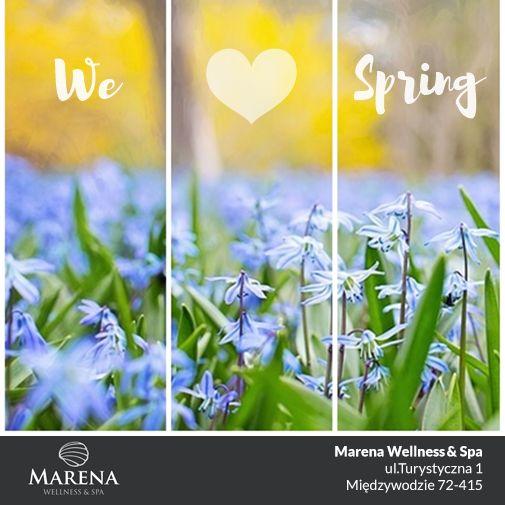 Witaj WIOSNO, czekaliśmy na Ciebie :) Za co najbardziej lubicie Wiosnę? My za pierwsze ciepłe dni i budzące się do życia kolory! #Marena #Wiosna #nadmorzem