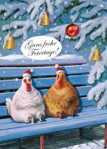 Gans frohe Weihnachten!