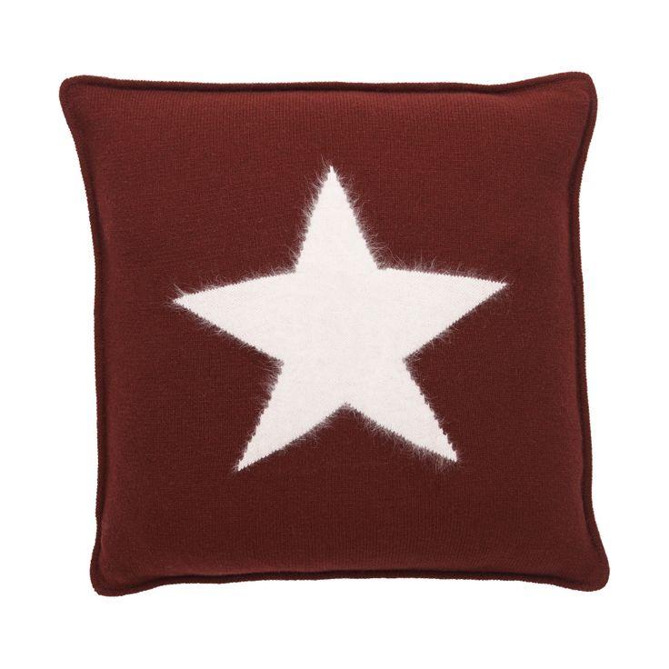 Gant Angora Big Star Kissenbezug 50 x 50 cm mid red