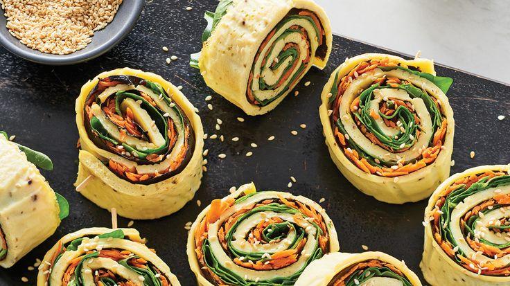 Egg Nori Sushi Rolls
